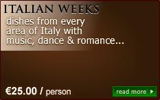 italian weeks